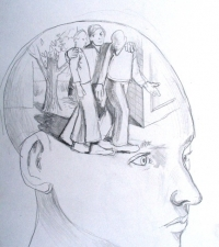 inner-consiousness-pencil-on-paper-8x10in-2008