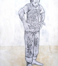 information-roots-pencil-acrylic-on-paper-16x20in-2009