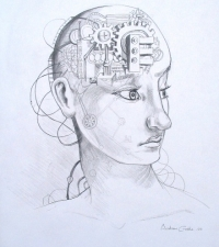 organic-robot-pencil-on-paper16x20in-2010